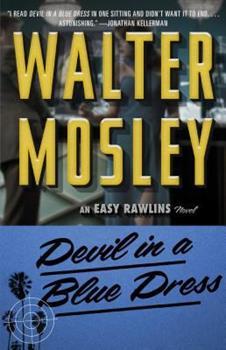 Devil in a Blue Dress 0671511424 Book Cover