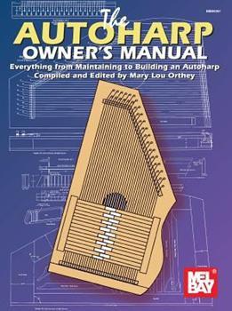 Paperback Autoharp Owner's Manual Book