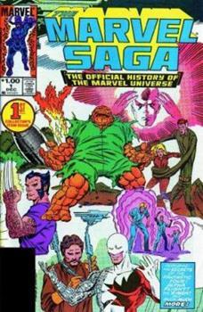Essential Marvel Saga, Vol. 1 (Marvel Essentials) - Book  of the Essential Marvel