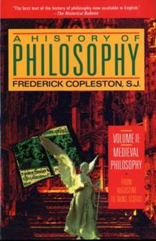 A History of Philosophy, Vol 2: Medieval Philosophy 038501631X Book Cover