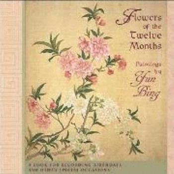 Diary Flowers of the Twelve Months Book