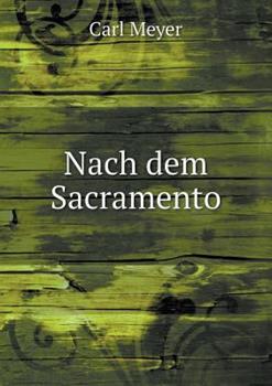 Paperback Nach Dem Sacramento Book