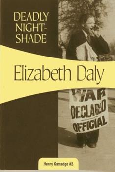 Deadly Nightshade 1937384799 Book Cover