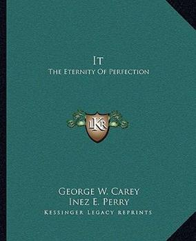 Paperback It: The Eternity Of Perfection Book