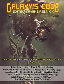 Galaxy's Edge Magazine Issue 23, November 2016 1612423272 Book Cover