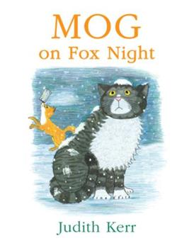 Mog on Fox Night 0007171366 Book Cover