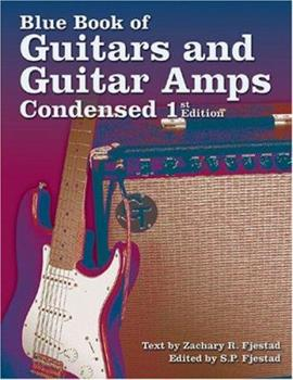 Paperback Blue Book of Guitars and Guitar Amps, Condensed First Edition Book
