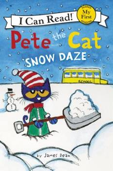 Paperback Pete the Cat: Snow Daze Book