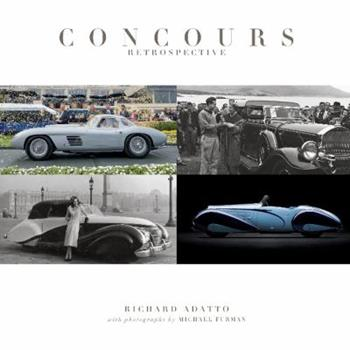 Hardcover Concours Retrospective Book