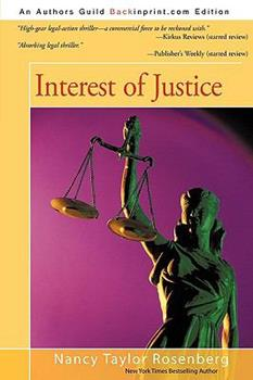 Interest of Justice 0451180216 Book Cover