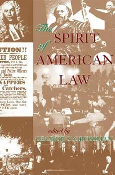 Paperback The Spirit of American Law Book