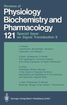 Paperback Reviews of Physiology Biochemistry and Pharmacology Book