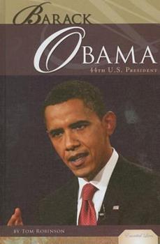 Library Binding Barack Obama: 44th U.S. President Book