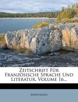 Paperback Zeitschrift F?R Franz?Sische Sprache und Literatur Book