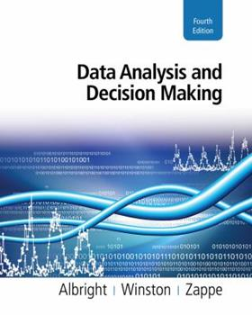 Data Analysis and Decision Making with Microsoft  Excel (with CD-ROM, InfoTrac , and Decision Tools and Statistic Tools Suite) 0534389325 Book Cover