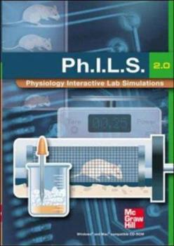 CD-ROM (Ph.I.L.S.) Physiology Interactive Lab Simulations 2.0 CD-ROM Book