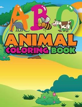 Paperback ABC Animal Coloring Books Book