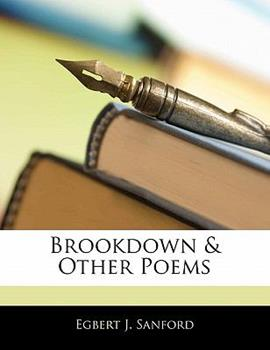 Paperback Brookdown and Other Poems Book
