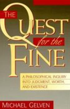 The Quest for the Fine 0847681246 Book Cover