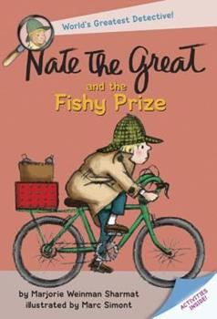 Nate The Great And The Fishy Prize (Nate The Great, paper) 0440400392 Book Cover