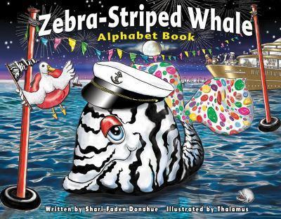 Paperback Zebra-Striped Whale Alphabet Book