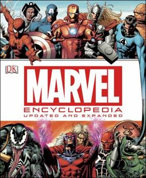 Hardcover Marvel Encyclopedia: The Definitive Guide to the Characters of the Marvel Universe Book