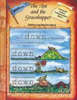 Paperback Ant & the Grasshopper Position & Direction Words (Learning with Literature (Edcon)) Book