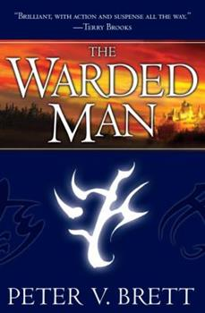 Hardcover The Warded Man: Book One of the Demon Cycle Book