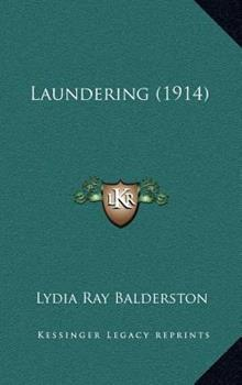 Hardcover Laundering Book