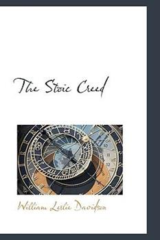 Paperback The Stoic Creed Book
