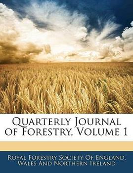 Paperback Quarterly Journal of Forestry Book