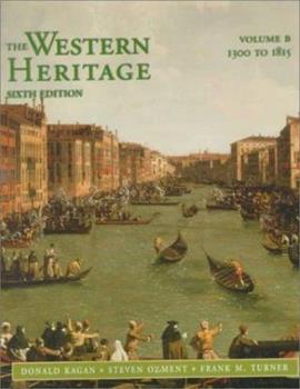Paperback The Western Heritage Vol. B Book