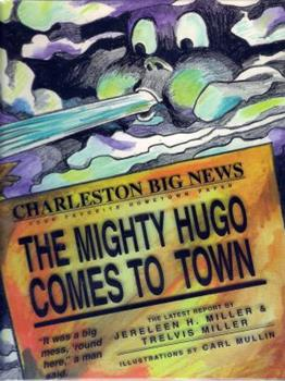 Library Binding The Mighty Hugo Comes To Town Book