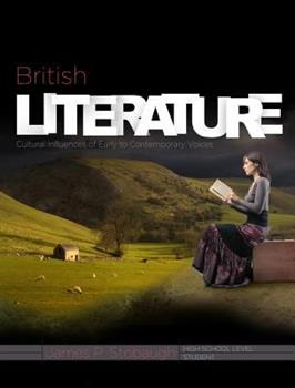 Paperback British Literature (Student): Cultural Influences of Early to Contemporary Voices Book