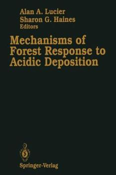 Paperback Mechanisms of Forest Response to Acidic Deposition Book