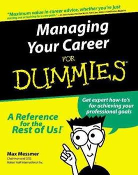 Paperback Managing Your Career for Dummies? Book