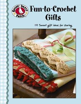 Paperback Gooseberry Patch: Fun to Crochet Gifts (Leisure Arts #4474) Book