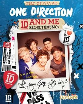 Hardcover The Official One Direction and Me Secret Notebook Book
