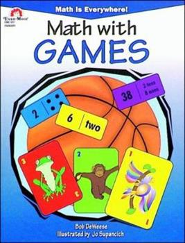 Math With Games (Math Is Everywhere Series) - Book  of the Math is Everywhere!