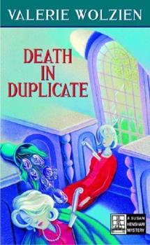 Death in Duplicate (Susan Henshaw Mystery, Book 16) 0345468082 Book Cover