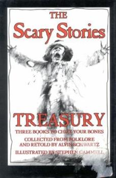 Hardcover The Scary Stories Treasury Book