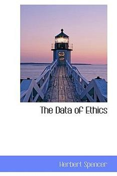 Paperback The Data of Ethics Book