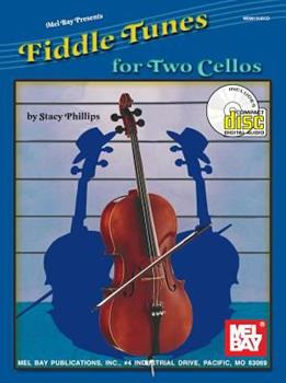 Fiddle Tunes for Two Cellos [With CD] 0786661917 Book Cover