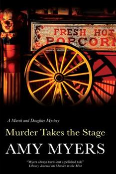 Hardcover Murder Takes the Stage Book