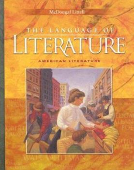 Hardcover The Language of Literature : American Literature Book
