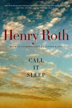 Call It Sleep 0374522928 Book Cover
