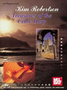 Paperback Treasures of the Celtic Harp Book