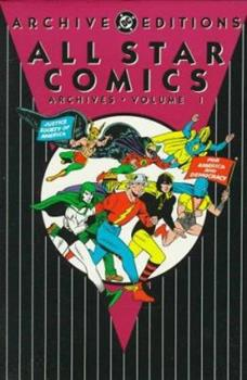 All Star Comics Archives, Vol. 1 - Book  of the DC Archive Editions