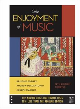 Loose Leaf The Enjoyment of Music Book