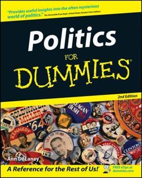 Paperback Politics for Dummies Book